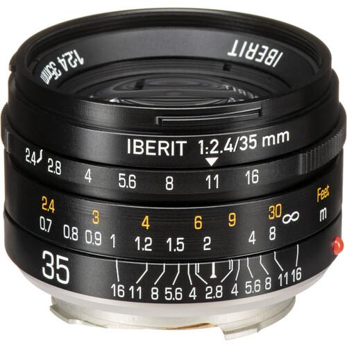 KIPON Iberit 35mm f/2.4 Lens for Leica M