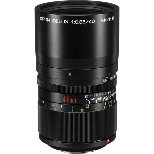 KIPON Ibelux 40mm f/0.85 Lens for Micro Four Thirds