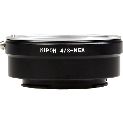 KIPON Lens Mount Adapter for Four Thirds-Mount Lens to Sony-E Mount Camera