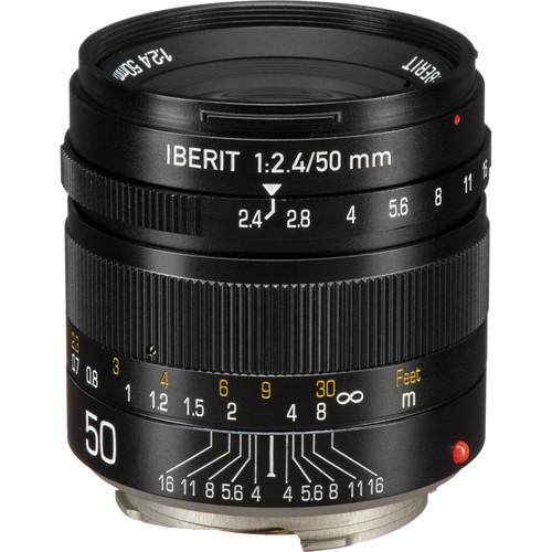 KIPON Iberit 50mm f/2.4 Lens for Leica M