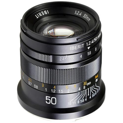 KIPON Iberit 50mm f/2.4 Lens for Leica L