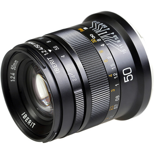 KIPON Iberit 50mm f/2.4 Lens for Leica L