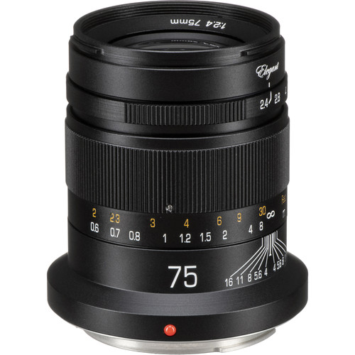 KIPON Elegant 75mm f/2.4 Lens for Canon RF