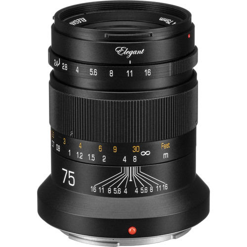 KIPON Elegant 75mm f/2.4 Lens for Nikon Z