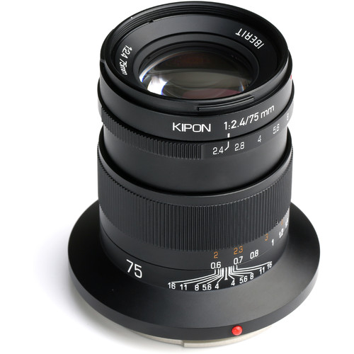 KIPON Iberit 75mm f/2.4 Lens for FUJIFILM G