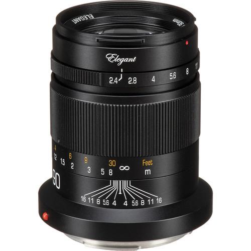 KIPON Elegant 90mm f/2.4 Lens for Canon RF