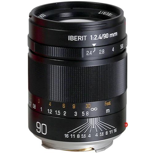 KIPON Iberit 90mm f/2.4 Lens for Leica M