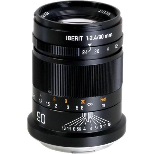 KIPON Iberit 90mm f/2.4 Lens for Leica L
