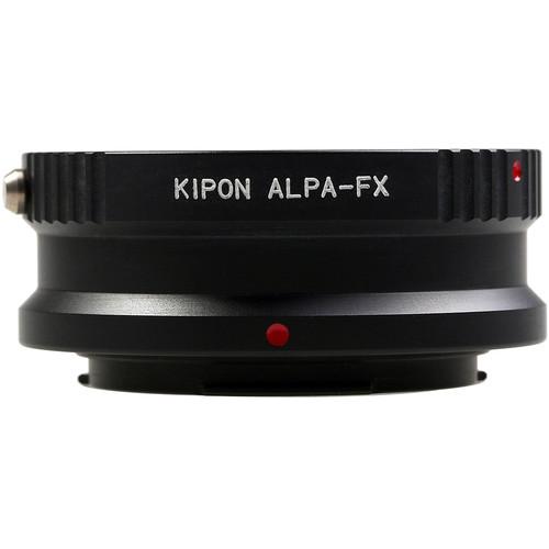 KIPON Lens Mount Adapter for Alpa Lens to FUJIFILM FX-Mount Camera