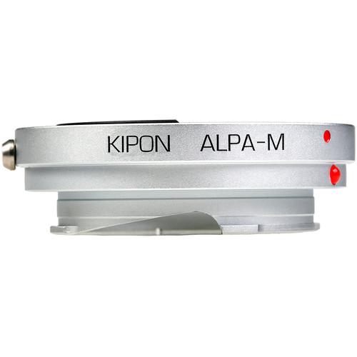 KIPON Lens Mount Adapter for Alpa-Mount Lens to Leica M-Mount Camera