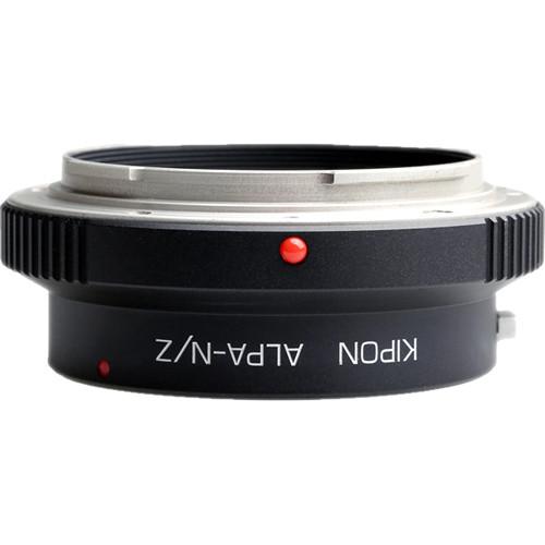 KIPON Lens Mount Adapter for Alpa-Mount Lens to Nikon Z-Mount Camera