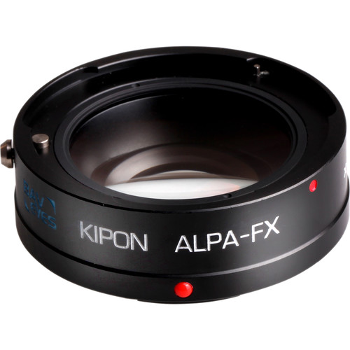 KIPON Baveyes 0.7x Lens Mount Adapter for Alpa Lens to FUJIFILM FX-Mount Camera