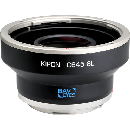 KIPON Baveyes 0.7x Lens Mount Adapter for Contax 645-Mount Lens to Leica L-Mount Camera