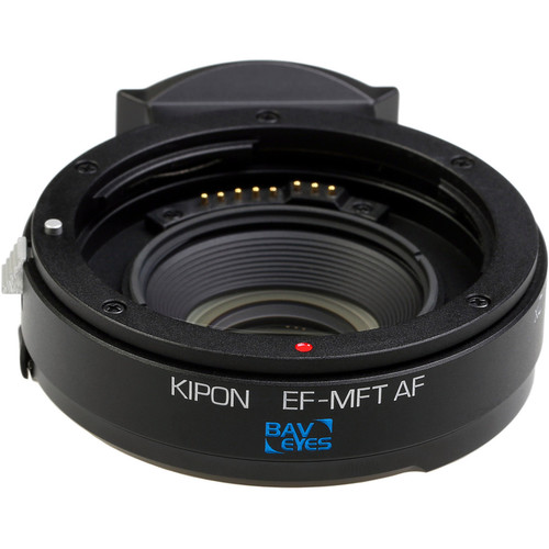 KIPON Baveyes 0.7x Autofocus Lens Mount Adapter for Canon EF-Mount Lens to Micro Four Thirds Camera