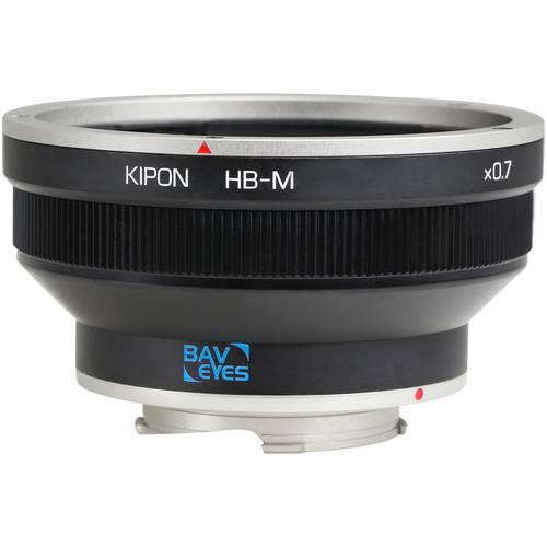 KIPON Baveyes 0.7x Lens Mount Adapter for Hasselblad V-Mount Lens to Leica M-Mount Camera