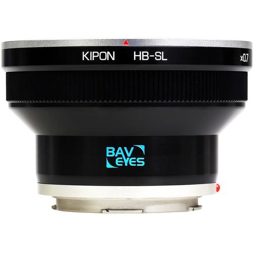 KIPON Baveyes 0.7x Lens Mount Adapter for Hasselblad V-Mount Lens to Leica L-Mount Camera