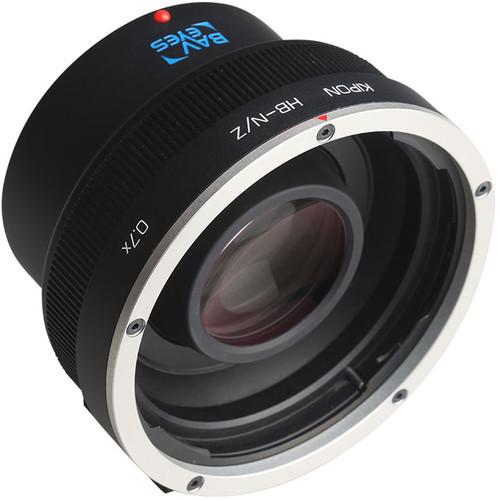 KIPON Baveyes 0.7x Lens Mount Adapter for Hasselblad V-Mount Lens to Nikon Z-Mount Camera