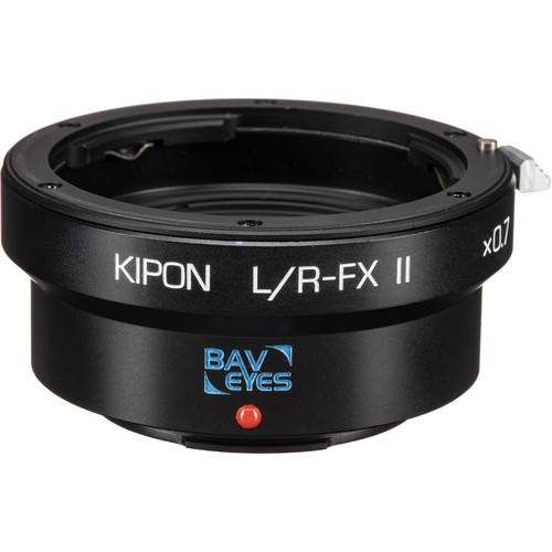 KIPON Baveyes 0.7x Mark2 Lens Mount Adapter for Leica R Lens to FUJIFILM FX-Mount Camera