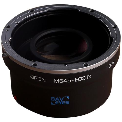 KIPON Baveyes Lens Mount Adapter for Mamiya 645-Mount Lens to Canon RF-Mount Camera