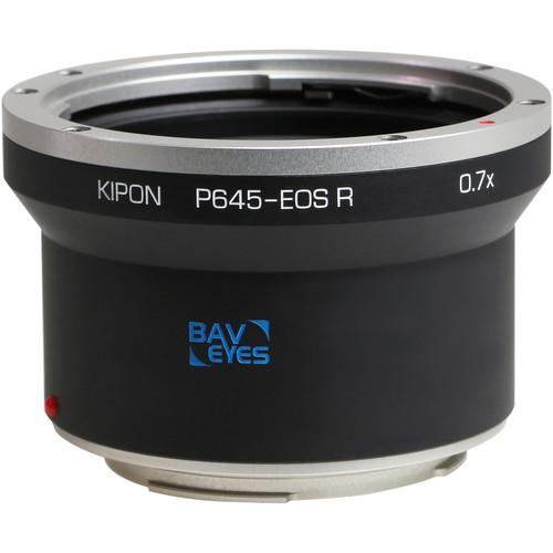 KIPON Baveyes 0.7x Lens Mount Adapter for Pentax 645-Mount Lens to Canon RF-Mount Camera