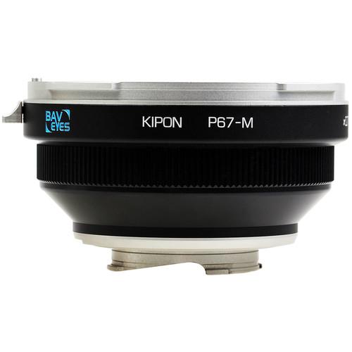 KIPON Baveyes 0.7x Lens Mount Adapter for Pentax 6x7-Mount Lens to Leica M-Mount Camera