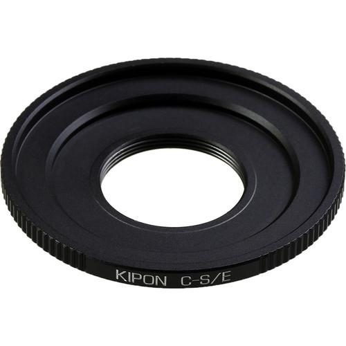 KIPON Lens Mount Adapter for C-Mount Lens to Sony-E Mount Camera