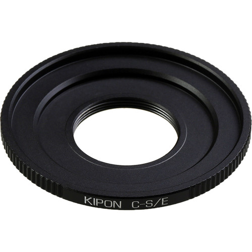 KIPON Lens Mount Adapter for C-Mount Lens to Sony-E Mount Camera