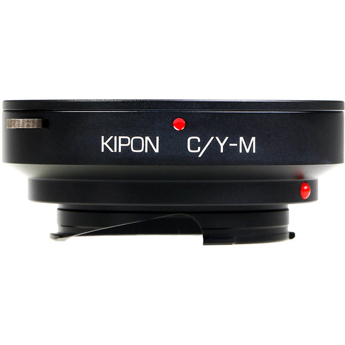 KIPON Lens Mount Adapter for Contax/Yashica-Mount Lens to Leica M-Mount Camera