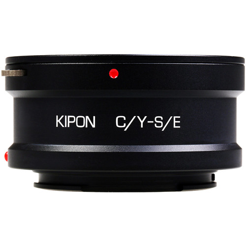 KIPON Lens Mount Adapter for Contax/Yashica-Mount Lens to Sony E-Mount Camera