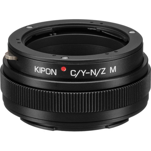 KIPON Lens Mount Adapter for Contax/Yashica-Mount Lens with Helicoid to Nikon Z-Mount Camera