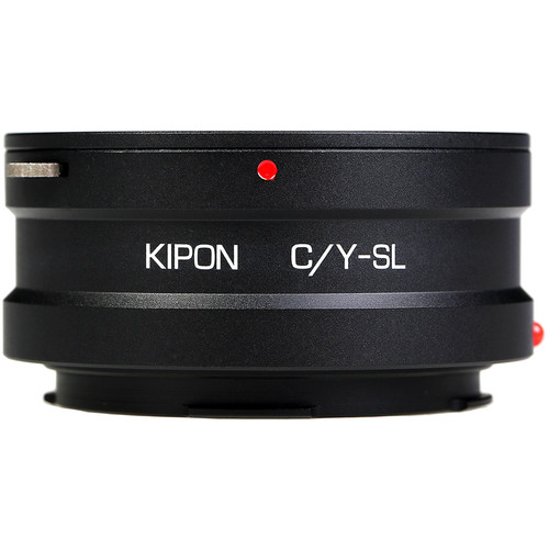 KIPON Lens Mount Adapter for Contax/Yashica-Mount Lens to Leica L-Mount Camera