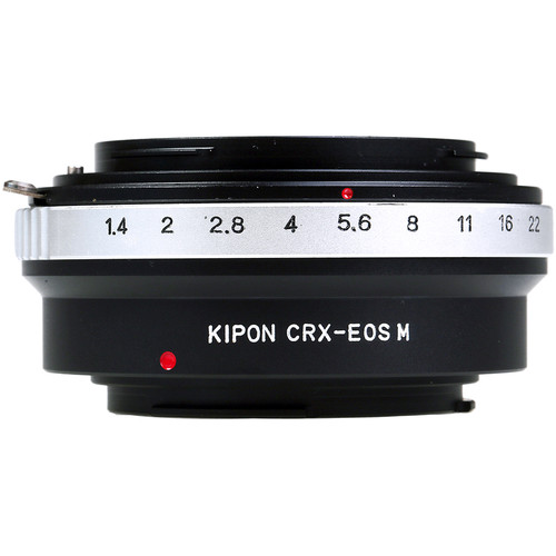 KIPON Lens Mount Adapter for Contarex-Mount Lens to Canon EF-M Mount Camera