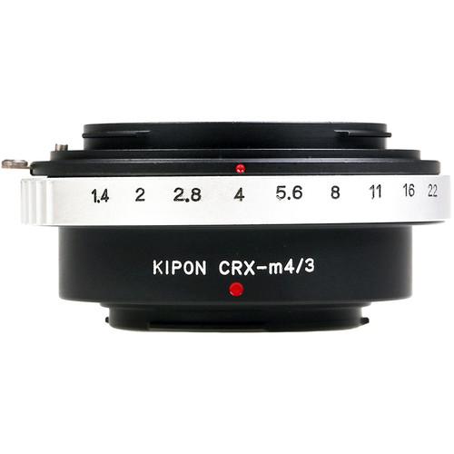 KIPON Lens Mount Adapter for Contarex-Mount Lens to Micro Four Thirds-Mount Camera