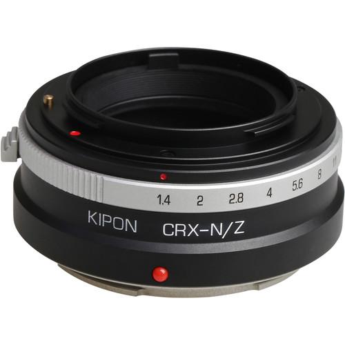KIPON Lens Mount Adapter for Contarex-Mount Lens to Nikon Z-Mount Camera