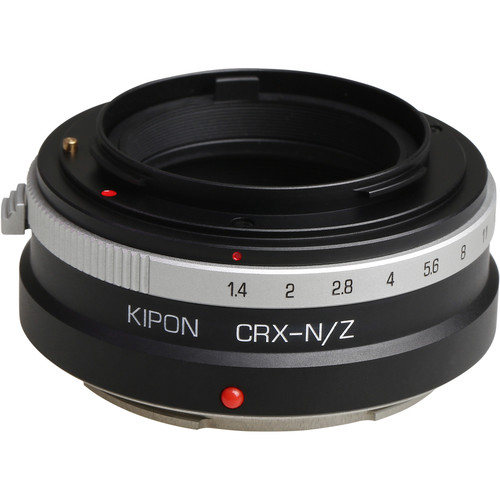 KIPON Lens Mount Adapter for Contarex-Mount Lens with Helicoid to Nikon Z-Mount Camera