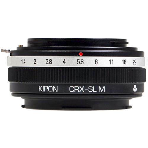 KIPON Macro Lens Mount Adapter for Contarex-Mount Lens to Leica L-Mount Camera