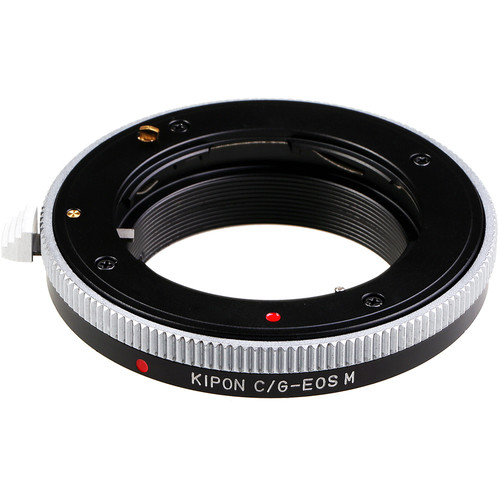 KIPON Lens Mount Adapter for Contax G-Mount Lens to Canon EF-M Mount Camera