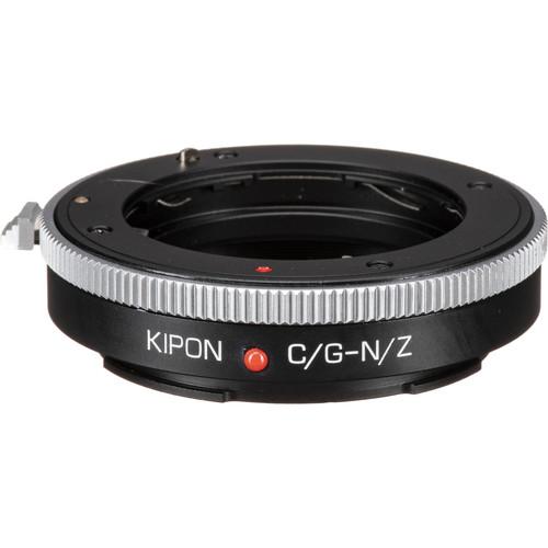 KIPON Lens Mount Adapter for Contax G-Mount Lens to Nikon Z-Mount Camera