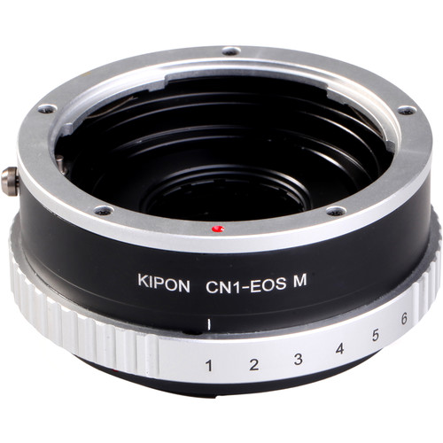 KIPON Lens Mount Adapter for Contax N-Mount Lens to Canon EF-M Mount Camera