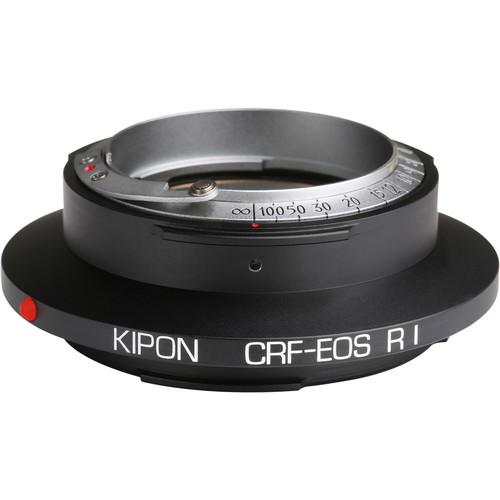 KIPON Lens Mount Adapter for Contax RF-Mount, Internal or External Bayonet Lens to Canon RF-Mount Camera