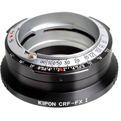 KIPON Lens Adapter for Contax RF Internal/External Bayonet Lens to FUJIFILM X-Mount Camera