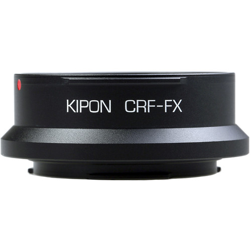 KIPON Lens Adapter for Contax RF Internal Bayonet Lens to FUJIFILM X-Mount Camera