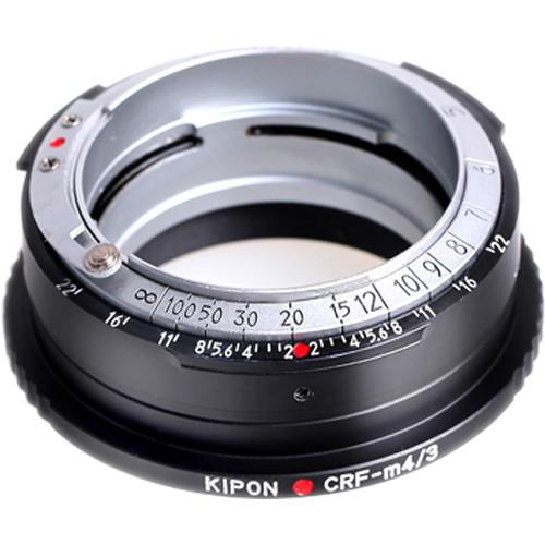 KIPON Lens Mount Adapter for Contax RF-Mount, Internal or External Bayonet Lens to Micro Four Thirds-Mount Camera