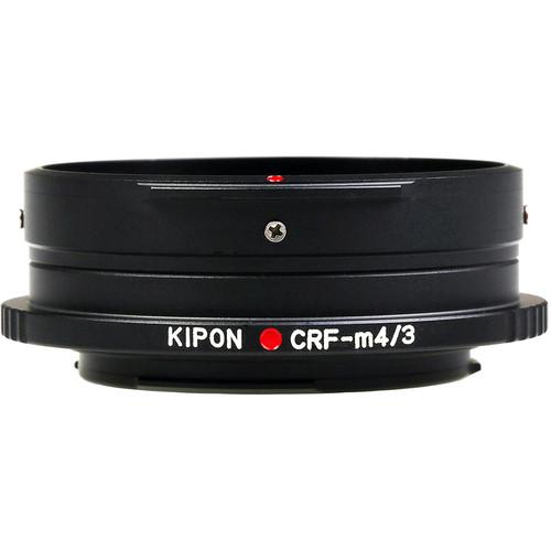 KIPON Lens Mount Adapter for Contax RF-Mount, External Bayonet Lens to Micro Four Thirds-Mount Camera