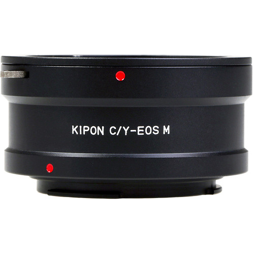 KIPON Lens Mount Adapter for Contax/Yashica-Mount Lens to Canon EF-M Mount Camera