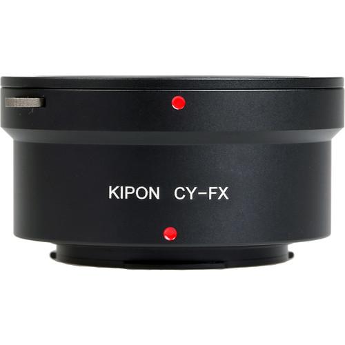 KIPON Lens Mount Adapter for Contax/Yashica Lens to FUJIFILM FX-Mount Camera