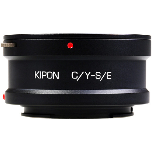 KIPON Lens Mount Adapter for Contax/Yashica-Mount Lens to Sony-E Mount Camera