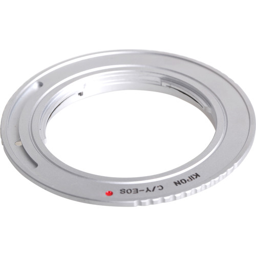 KIPON Lens Mount Adapter for Contax-Yashica-Mount Lens to Canon EF-Mount Camera