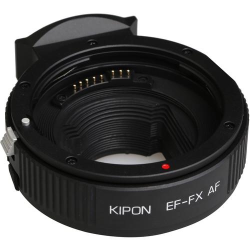 KIPON AF Lens Mount Adapter for Canon EF-Mount Lens to FUJIFILM X-Mount Camera