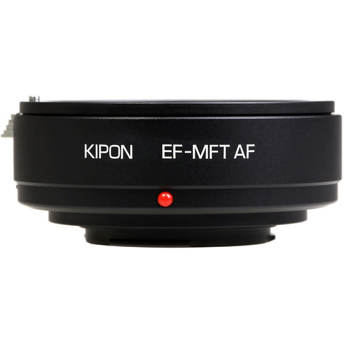 KIPON Autofocus Lens Mount Adapter for Canon EF-Mount Lens to Micro Four Thirds-Mount Camera
